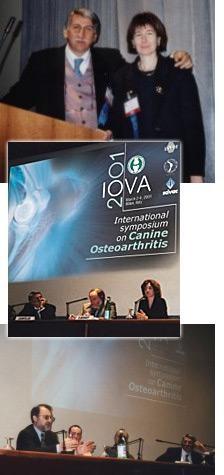 IOVA meeting 2001: tre giorni dentro l'articolazione artrosica del cane