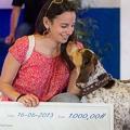 """Innovet premia Clizia, vincitrice di """"Gli Amici di Luna 2013"""""""