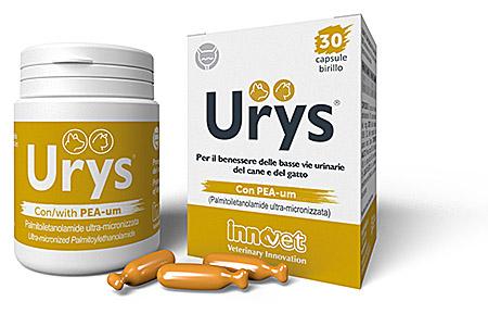 Urys per il benessere delle basse vie urinarie nel cane for Urys gatto