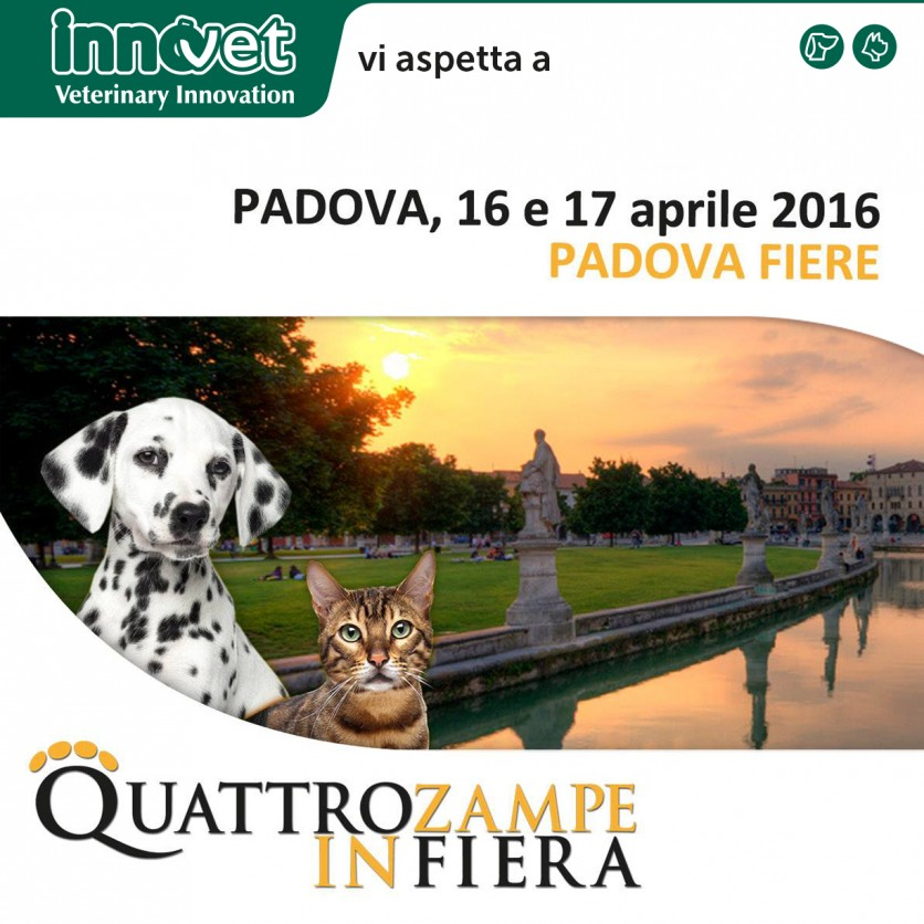 Quattrozampeinfiera Padova 16 e 17 aprile