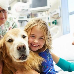 Cani in corsia alla Clinica Pediatrica