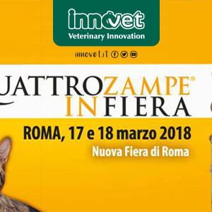 Comincia da Roma il tour QuattroZampeinFiera 2018