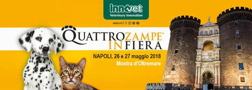 Innovet torna a Napoli con Quattrozampeinfiera