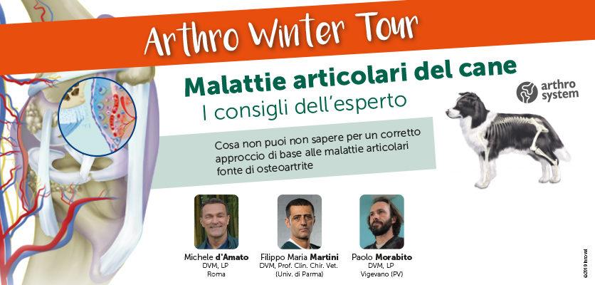 Terminato l'Arthro Winter Tour 2018-2019: bilancio positivo