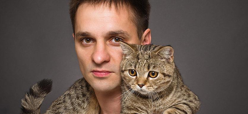Gatto e proprietario
