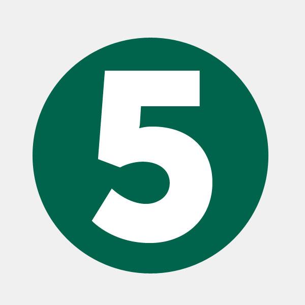 5 regole d'oro