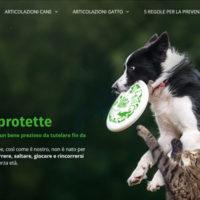 Un nuovo sito per la salute articolare del cane e del gatto