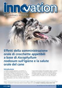 Effetti della somministrazione orale di crocchette appetibili a base di Ascophyllum nodosum sull'igiene e la salute orale del cane