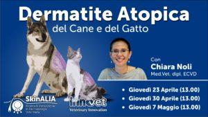 Dermatite Allergica del Cane e del Gatto: cause, sintomi e percorsi diagnostici.