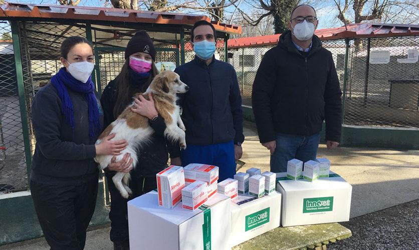 Innovet dona 10.000 euro al Canile di Rubano
