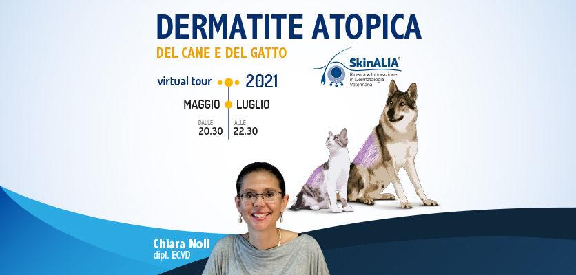 Dermatite atopica: un virtual tour con Chiara Noli