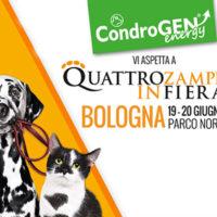 Quattrozampeinfiera torna a Bologna in compagnia di Condrogen®
